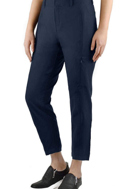Ladies' Ankle Length Travel Pant by Kirkland Signature