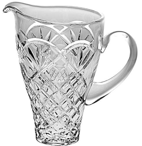 "Barski - European Quality Cut Crystal - Decorative - Pitcher - 9.1"" Height - with Handle - Made…"