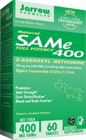 SAM-e, Promotes Joint Strength and Mood by Jarrow Formulas - 400 mg, 60 Enteric-Coated Tabs