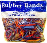 Northland Wholesale Alliance Rubber Bands Assorted Dimensions - 1/2 lb