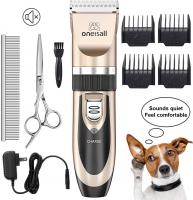 Dog Shaver Clippers Low Noise Rechargeable Cordless Electric Quie