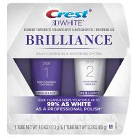 3D White Brilliance Toothpaste and Whitening Gel System by Crest - 4.0oz and 2.3oz