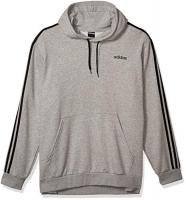 Men's Essentials 3-Stripes French Terry Pull-Over by Adidas