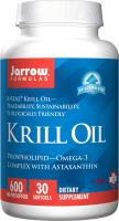 Krill Oil, Supports Brain, Memory, Energy, Cardiovascular Health by Jarrow Formulas - 30 Softgels