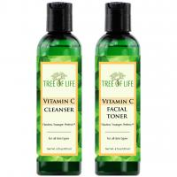 Flawless Younger Perfect Vitamin C Cleanser and Toner Combo Pack