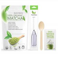 Matchaccino Starter Matcha 4 items set – Pure USDA Organic Star