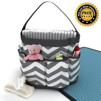 Portable Diaper Caddy-Caddy Diaper Organizer-Storage Caddy-D…