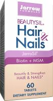 BeautySil Hair & Nails, Beautify & Strengthen Hair & Nails by Jarrow Formulas - 60 Tablets