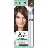 Magic Root Rescue 10 Minute Root Hair Coloring Kit by L'Oreal Paris - 100% Gray Coverage, 4 Dark Bro…