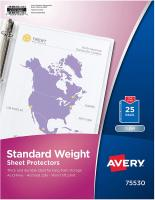 Standard Weight Clear Sheet Protectors by Avery