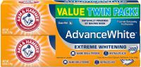 Arm & Hammer Advance White Extreme Whitening with Stain Defense 6 oz Twin Pa…