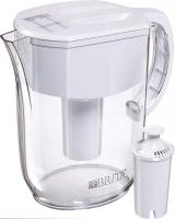 Everyday Pitcher with 1 Standard Filter by Brita, w 1 std, White