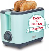 DEZT001AQ 2 Slice Extra Wide Slot Easy Toaster with Cool Tou…