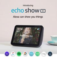 "Introducing Echo Show 8 - HD 8"" smart display with Alex…"