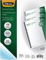 Binding Presentation Covers by Fellowes - 100 Pack, Clear (52089)