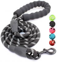 5 FT Strong Dog Leash with Comfortable P