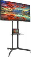 Mobile TV Cart for 32-65 inch LCD LED Plasma Flat Panel Screen TVs up to 110 lbs by VIVO