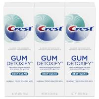 Toothpaste Gum Detoxify Deep Clean by Crest, 4.1oz (Pack of 3)