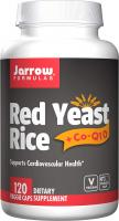 Complementary Red Yeast Rice by Jarrow Formulas - (600 mg)+ Co-Q10 Formula (50 mg), 120 Count