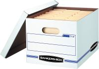 STOR/File Storage Boxes, Standard Set-Up, Lift-Off Lid, Letter/Legal by Bankers Box