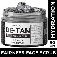 Organic Charcoal De Tan Removal Scrub For Brightening & …