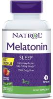Melatonin Fast Dissolve Tablets Helps You Fall Asleep Faster Stay Asleep Longer Easy to Take Dissolv…