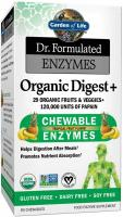 Garden of Life Organic Chewable Enzyme Supplement 90 Chewable Tablets - Dr. Formulated Enzymes Organ…