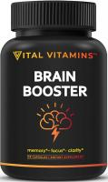 Brain Supplement Nootropics Booster - Enhance Focus, Boost Concentration, Improve Memory & Clari…