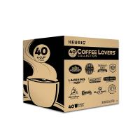 Coffee Lovers' Collection Sampler Pack by Keurig 40 Count (Pack o