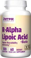 R-Alpha Lipoic Acid, Supports Energy Cardio Vascular Health by Jarrow Formulas - 100 mg, 60 Caps