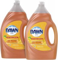 Antibacterial Dishwashing Liquid Dish Soap by Dawn - 56 Fl Oz, Pack Of 2(Packaging May Vary)
