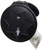 RECESSED BADGE HOLDER (7 Point Star) by Hero's Pride