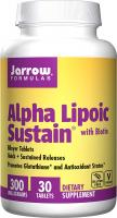 Alpha Lipoic Sustain Supports Cardiovascular Health by Jarrow Formulas - 300 mg, 30 Tablets