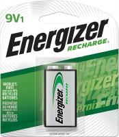 Rechargeable 9V Batteries NiMH, 175 mAh by Energizer - (Rech…