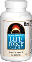 Life Force Multiple Daily Multivitamin High Potency Essential Vitamins by Source Naturals - 180 Caps…