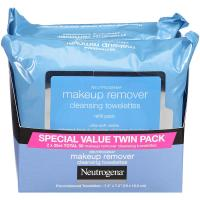 Neutrogena Makeup Remover Cleansing Towelettes Value Twin Pack, 25 count, 2 Pack