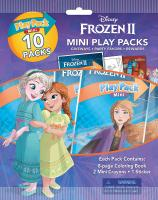 Frozen 2 Mini Play Packs 10-Pack with Crayons and Stickers 4…