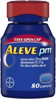 PM Pain Reliever/Nighttime Sleep-Aid Caplets by Aleve - 80 ea