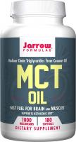 MCT Oil Softgels, Supports Brain and Muscles by Jarrow Formulas - 1000mg, 180 Counta