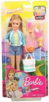 Travel Stacie Doll Blonde with 5 Accessories Including A Camera by Barbie and Ba…