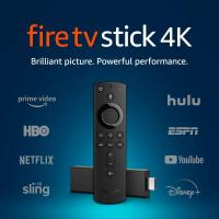 Fire TV Stick 4K streaming device with Alexa built in, Ultra…