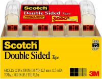 Scotch Brand Double Sided Tape, No Liner, Strong, Engineered for Office and Home Use by Scotch Brand
