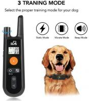 Rechargeable Dog Shock Collar w/3 Traini