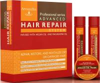 Advanced Hair Repair Shampoo and Conditioner Set with Argan Oil and Macadamia Oi…