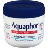 Aquaphor Healing Ointment - Moisturizing Skin Protectant for Dry Cracked Hands 14 oz. Jar