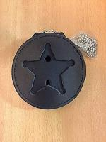 Recessed 5 Point Badge Round Holder by Hero's Pride