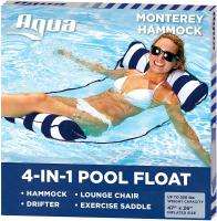 Monterey Hammock Inflatable Pool Float by Aqua - Portable Water H