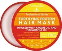 Fortifying Protein Hair Mask and Deep Conditioner with Argan Oil and Macadamia O…