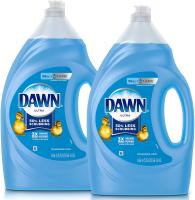 Ultra Dishwashing Liquid Dish Soap by Dawn - 2Count, 56 Oz.(Packaging May Vary)