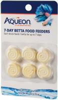 Betta Food Feeder, 7-Day, 6-Pack by Aqueon
